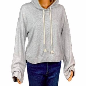 NWT Make + Model Nordstrom Women's Grey Hoodie L